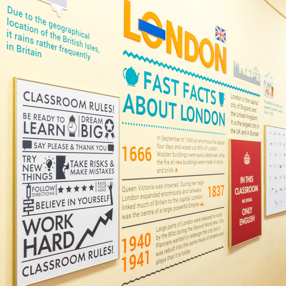 дизайн кабинетов английской школы