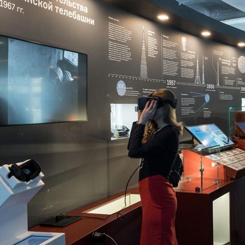 дизайн стены выставочной экспозиции