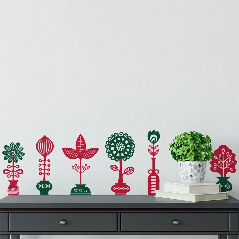Изображение Семь цветов в семи горшках