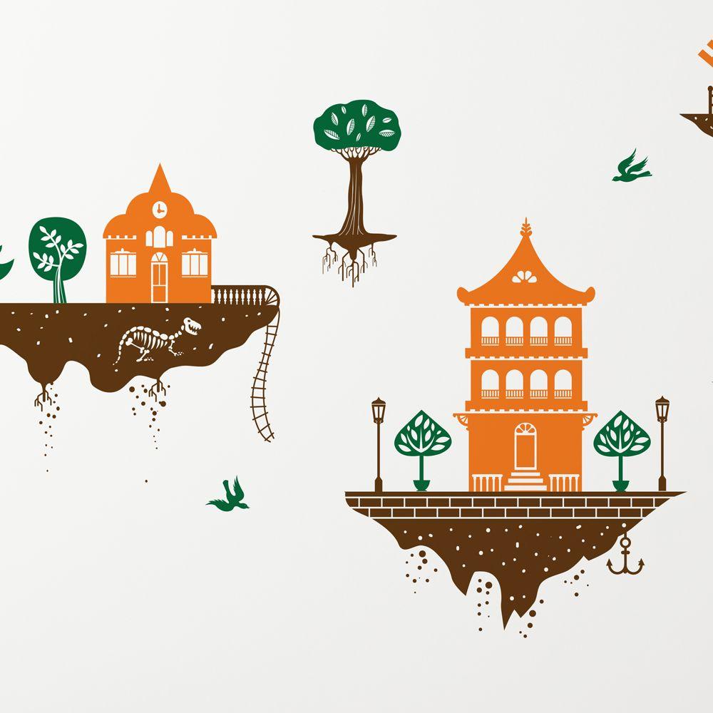 Изображение Летающие острова