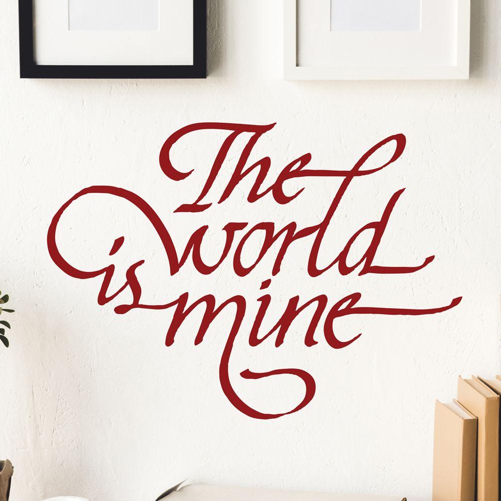 Изображение The world is mine