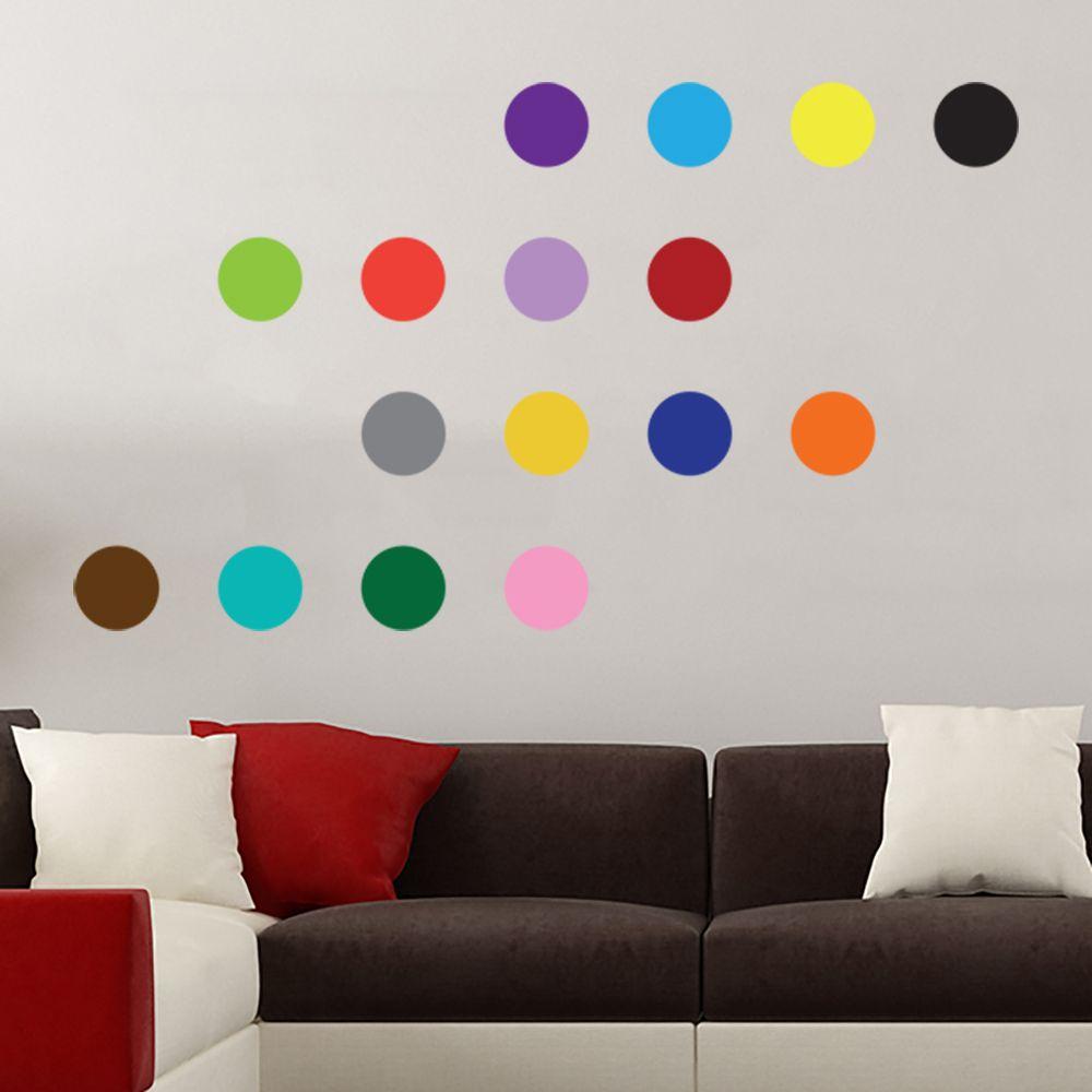 Изображение 16 цветных кружочков