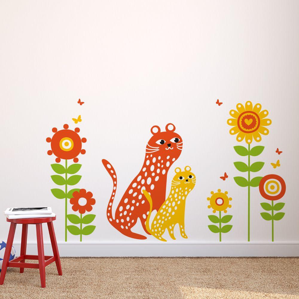 Изображение Наклейка «Два леопардика»