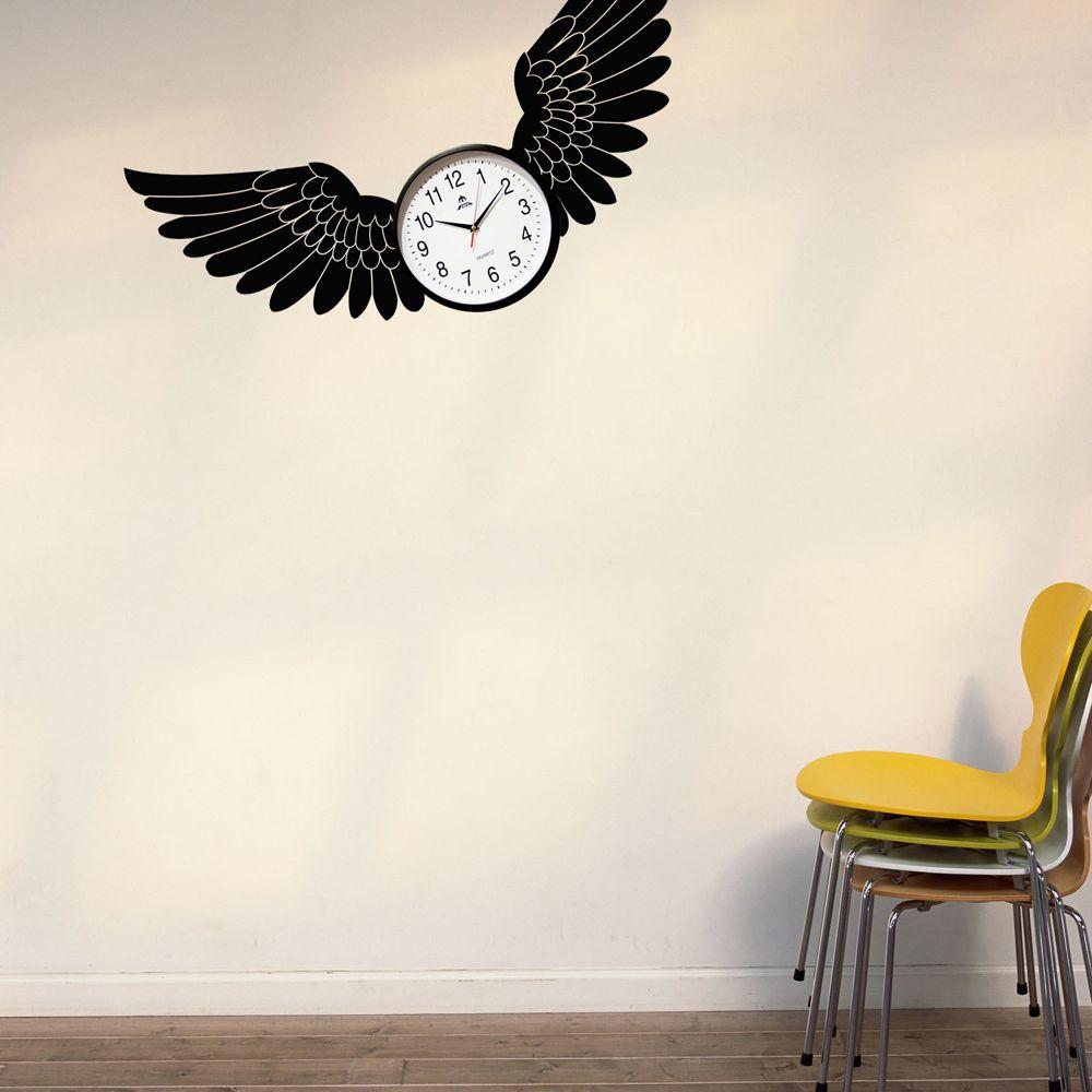 Изображение Наклейка на стену «Крылья для полета»