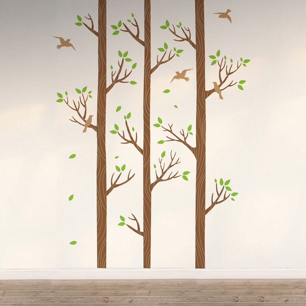 Изображение Три дерева