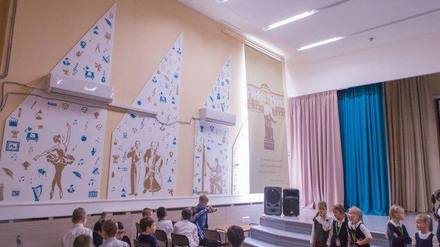 Изображение 7 - оформление стен школы №1935