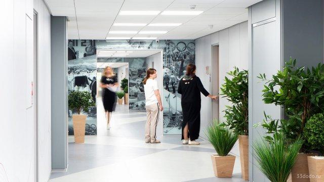 Изображение 2 - Дизайн коридоров офиса
