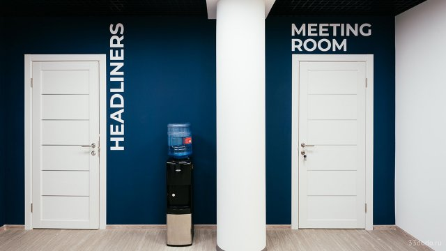 Изображение 10 - типографика в оформлении стен офиса компании Эскейп