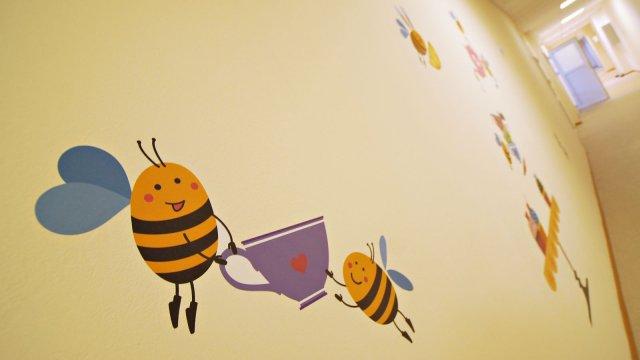 Изображение 3 - Оформления стен детского центра Улей