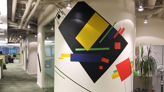 Изображение 6 - оформление стен офиса в стиле конструктивизма