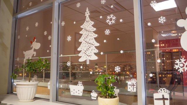 Изображение 8 - Новогоднее оформление офиса компании