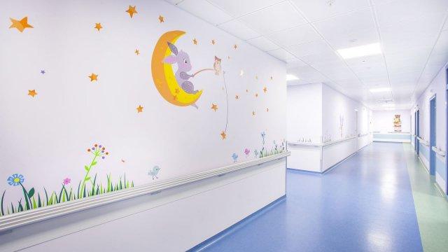 Изображение 8 - Оформление стен детского эндокринологического центра