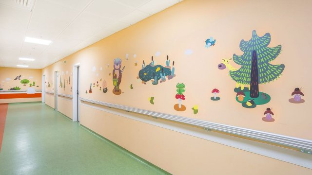 Изображение 27 - Оформление стен детского эндокринологического центра