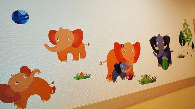 Изображение 5 - оформление детской поликлиники Альфа-страхования