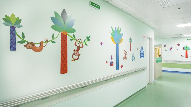 Изображение 13 - Оформление стен детского эндокринологического центра