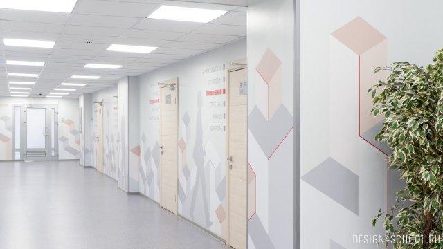 Изображение 10 - Дизайн коридоров офиса