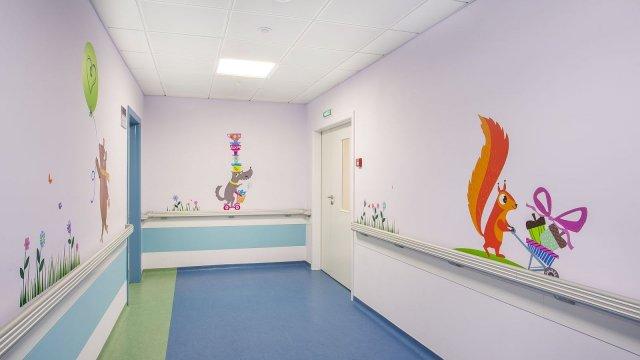 Изображение 5 - Оформление стен детского эндокринологического центра