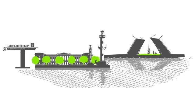 Изображение 4 - оформление стен городами России офиса Гринатом