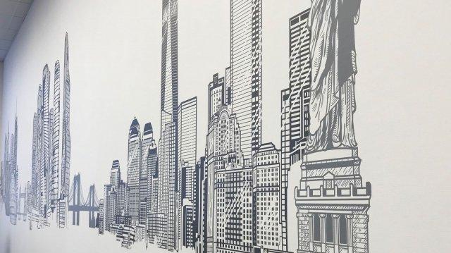 """Изображение 3 - Декор стены операционного центра """"Ренессанс страхование"""""""