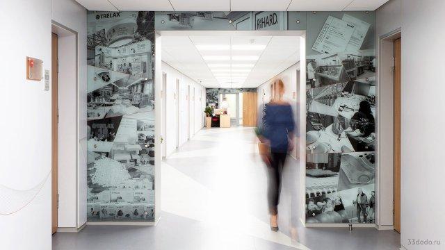 Изображение 7 - Дизайн коридоров офиса