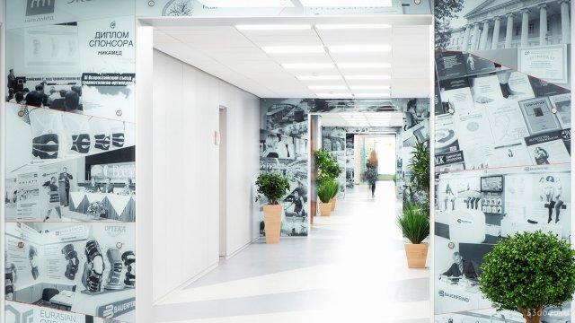 Изображение 5 - Дизайн коридоров офиса