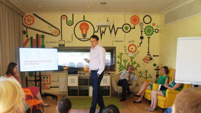 Изображение 1 - Оформление стен офиса в Сколково