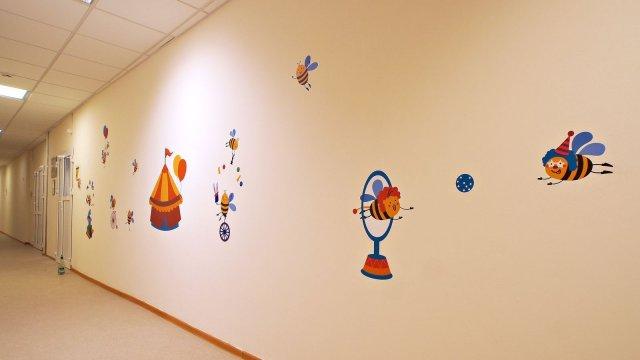 Изображение 2 - Оформления стен детского центра Улей