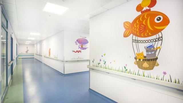 Изображение 1 - Оформление стен детского эндокринологического центра