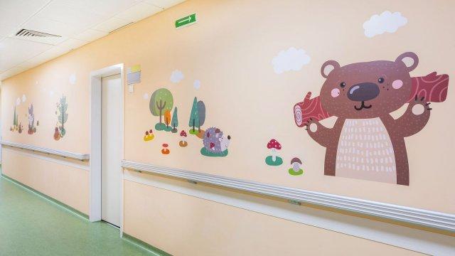 Изображение 28 - Оформление стен детского эндокринологического центра