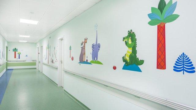 Изображение 9 - Оформление стен детского эндокринологического центра