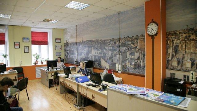 Изображение 1 - декор офиса туристической фирмы