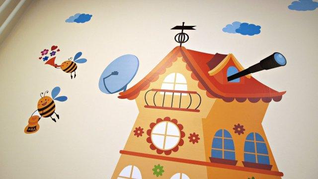 Изображение 10 - Оформления стен детского центра Улей