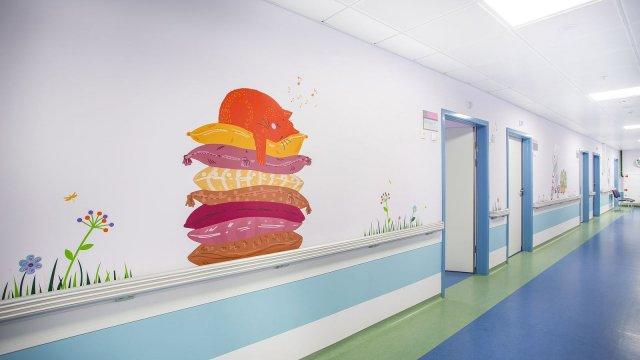 Изображение 7 - Оформление стен детского эндокринологического центра