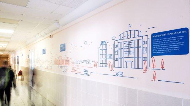 Изображение 1 - дизайн школы №1080