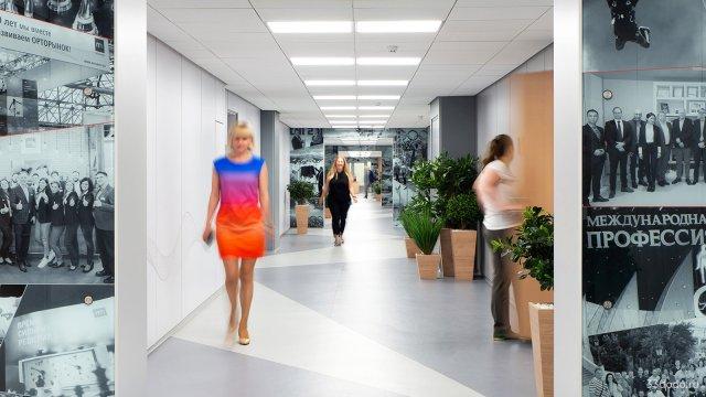 Изображение 1 - Дизайн коридоров офиса