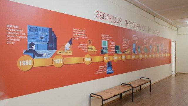 Изображение 4 - оформление стен школы №1935