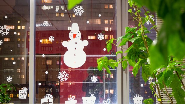 Изображение 7 - Новогоднее оформление офиса компании