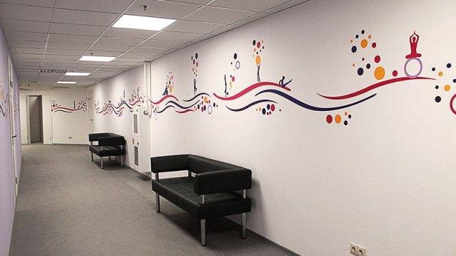 Изображение 6 - оформление стен фитнесс-клуба