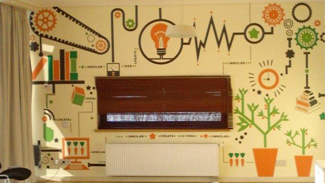 Изображение 3 - Оформление стен офиса в Сколково
