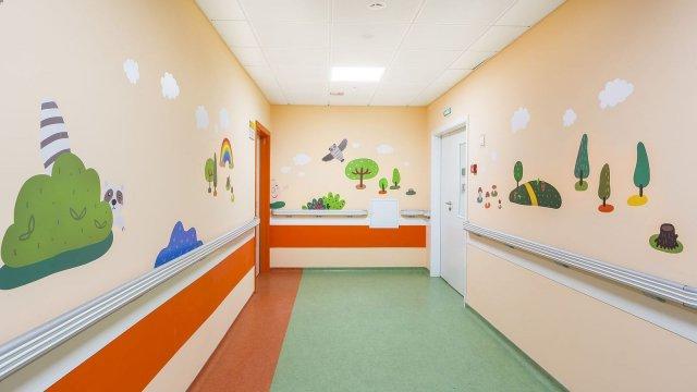 Изображение 26 - Оформление стен детского эндокринологического центра