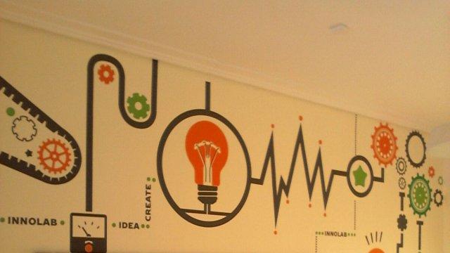 Изображение 2 - Оформление стен офиса в Сколково