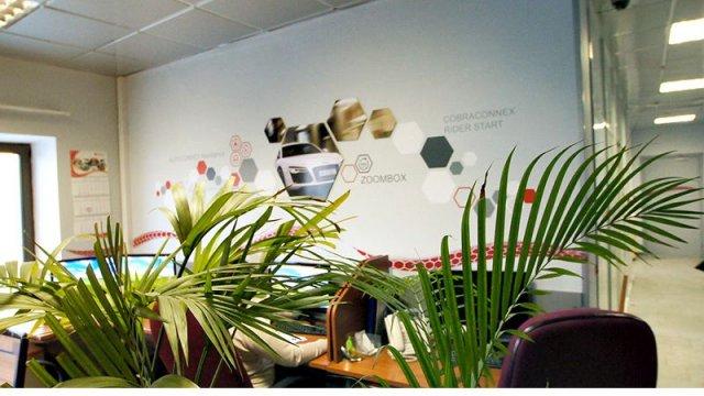 Изображение 15 - Декор стен офиса АВТОКОННЕКС
