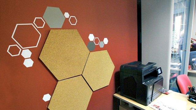 Изображение 8 - Декор стен офиса АВТОКОННЕКС