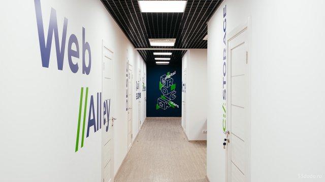 Изображение 3 - типографика в оформлении стен офиса компании Эскейп