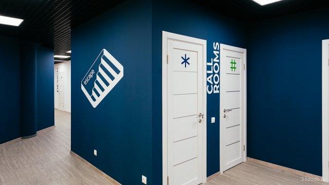Изображение 7 - типографика в оформлении стен офиса компании Эскейп