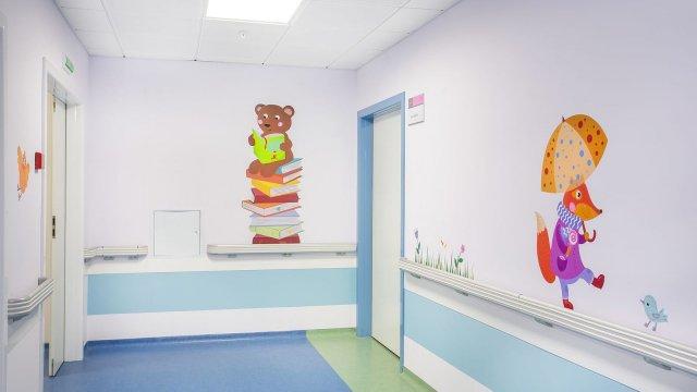 Изображение 4 - Оформление стен детского эндокринологического центра