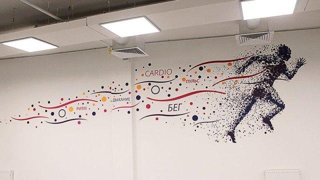 Изображение 4 - оформление стен фитнесс-клуба