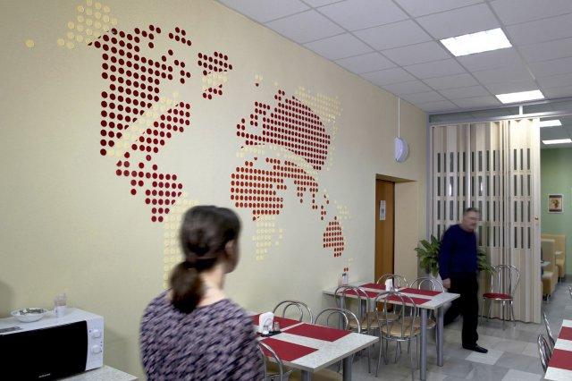 Изображение 2 - оформление стен высшей школы экономики