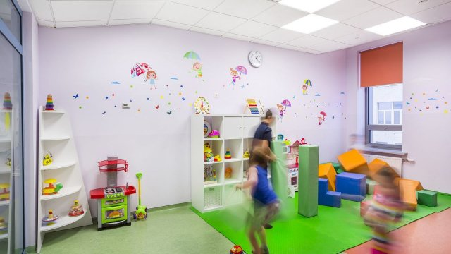 Изображение 2 - Оформление стен детского эндокринологического центра