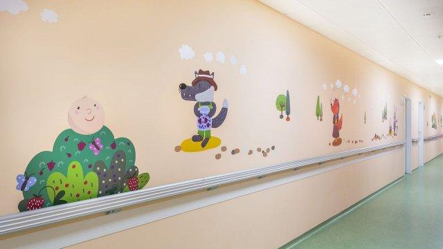 Изображение 25 - Оформление стен детского эндокринологического центра